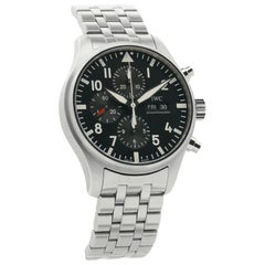 IWC Pilot IW377710, Black Dial, Certified and Warranty