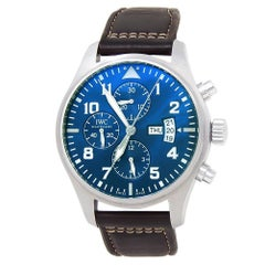 IWC Pilot IW377714, Blue Dial, Certified and Warranty