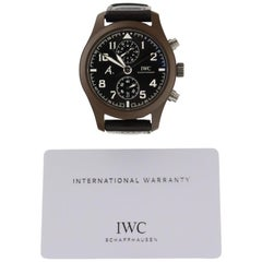 IWC Pilot IW388004, Brown Dial, Certified and Warranty