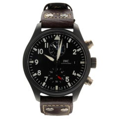 IWC Pilot IW389001, Black Dial, Certified and Warranty