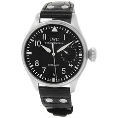 IWC Pilot IW500901, Black Dial, Certified and Warranty