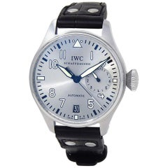 IWC Pilot IW500906, Silver Dial, Certified and Warranty