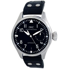IWC Pilot IW500912, Black Dial, Certified and Warranty