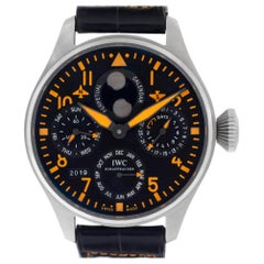 IWC Pilot IW502618; Gold Dial, Certified and Warranty