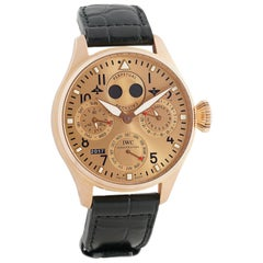IWC Pilot IW502639, Rose Dial, Certified and Warranty