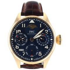IWC Pilot IW502802, Blue Dial, Certified and Warranty