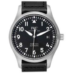 IWC Pilot Mark XVIII Black Dial Steel Men's Watch IW327001 Box Card