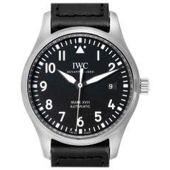 IWC Pilot Mark XVIII Black Dial Steel Men's Watch IW327001