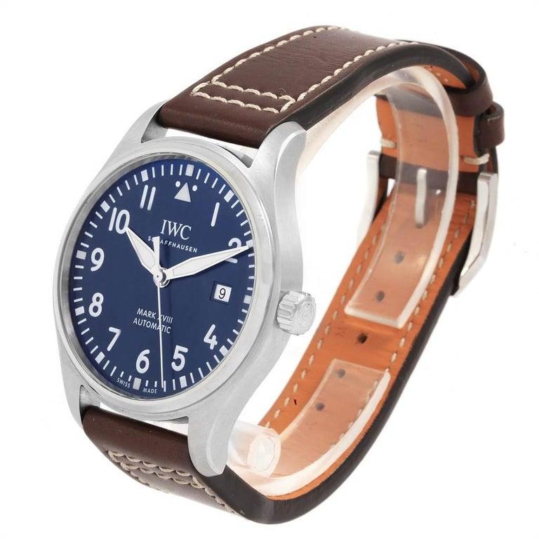 IWC Pilot Mark XVIII Petit Prince Blue Dial Men's Watch