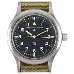 IWC Pilot RAF Mark XI Vintage Gents Stainless Steel Black Dial 6B/346