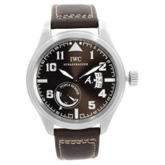 IWC Pilot Saint Exupery Steel Brown Dial Automatic Mens Watch IW320104