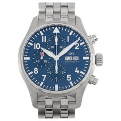 """IWC Pilot's Watch Chronograph Edition """"Le Petit Prince"""" Watch IW377717"""