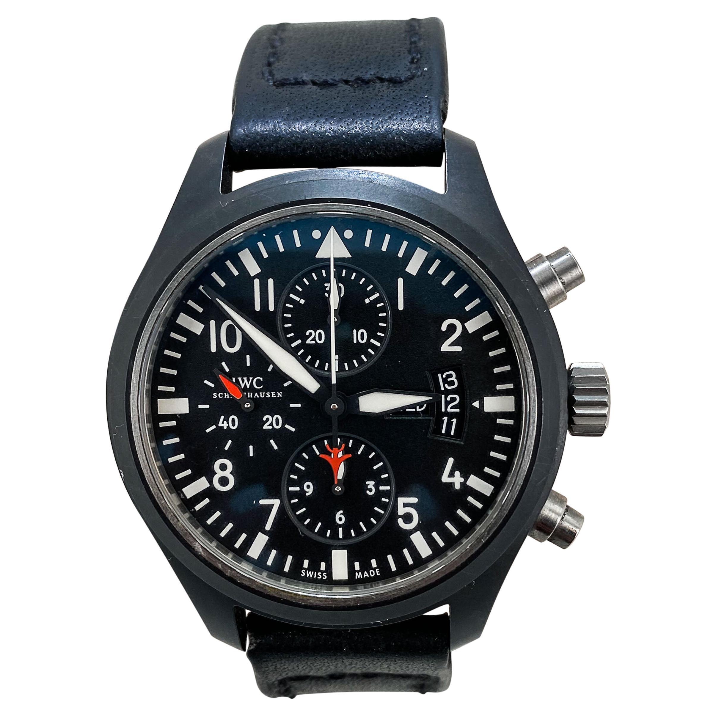 IWC Pilot's Watch Double Chronograph Edition Top Gun IW3375026