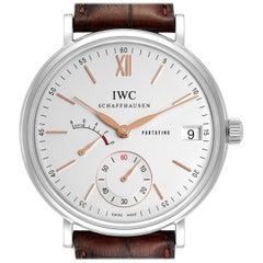 IWC Portofino 8 Days Power Reserve 45mm Silver Dial Men's Watch IW510103