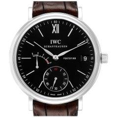 IWC Portofino 8 Days Power Reserve Black Dial Men's Watch IW510102