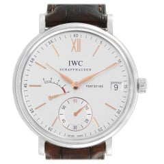 IWC Portofino 8 Days Power Reserve Silver Dial Men's Watch IW510103
