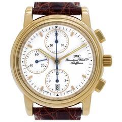 IWC Portofino iw3703 18 Karat White Dial Automatic Watch