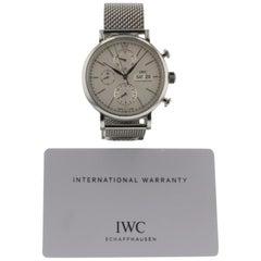 IWC Portofino IW391009, Silver Dial, Certified and Warranty