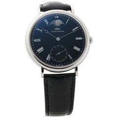 IWC Portofino IW544801, Black Dial, Certified and Warranty