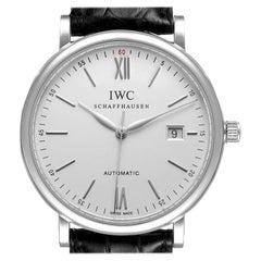 IWC Portofino Silver Dial Automatic Steel Men's Watch IW356501