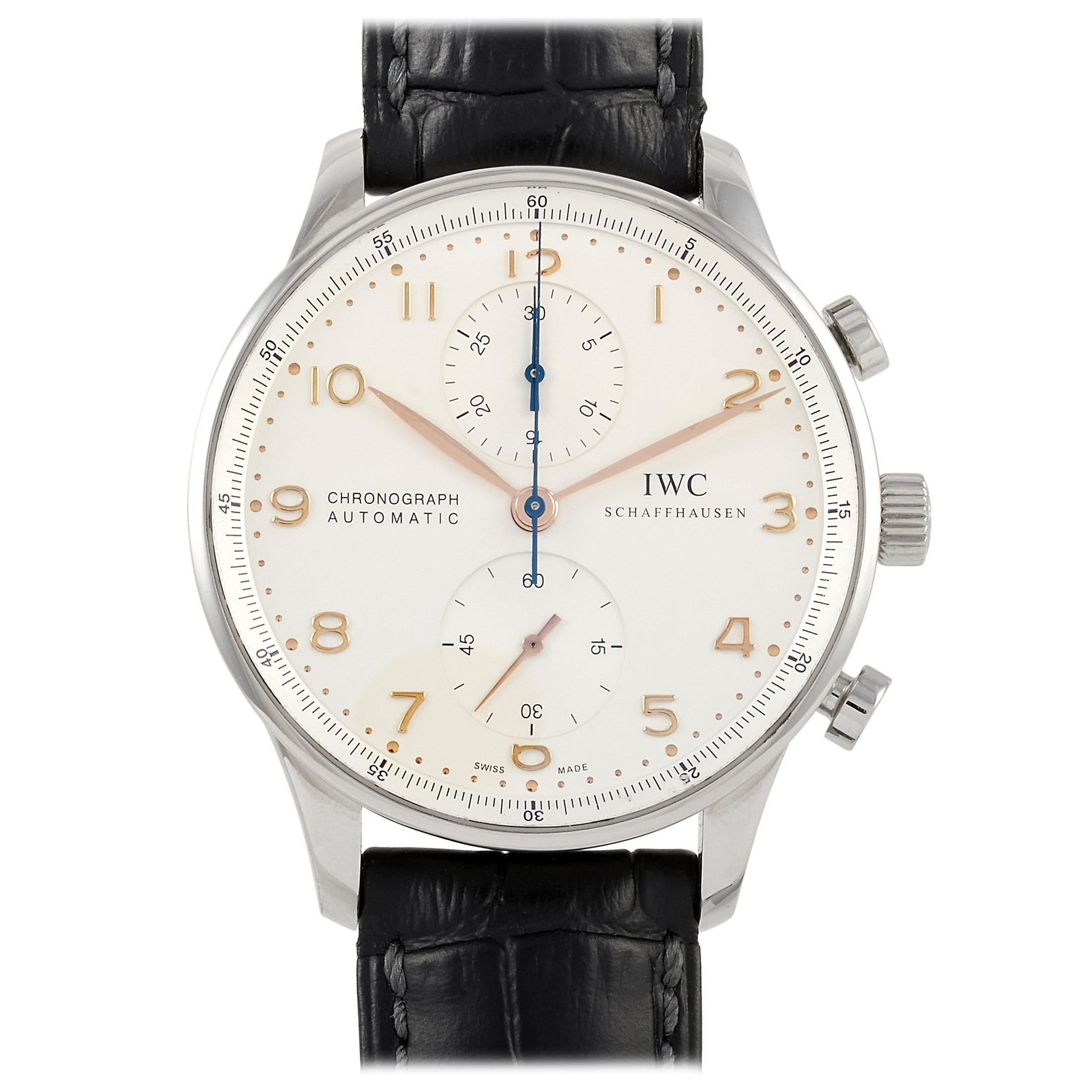 IWC Portugieser Automatic Chronograph Watch 371445