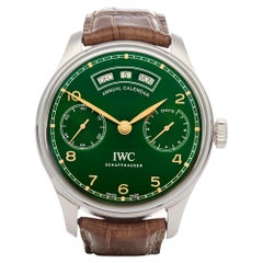 IWC Portuguese Annual Calendar Ltd Edition of 150pcs Stainless Steel IW503510