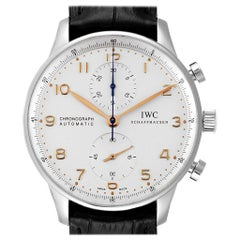 IWC Portuguese Chrono Automatic Stainless Steel Men's Watch IW371445