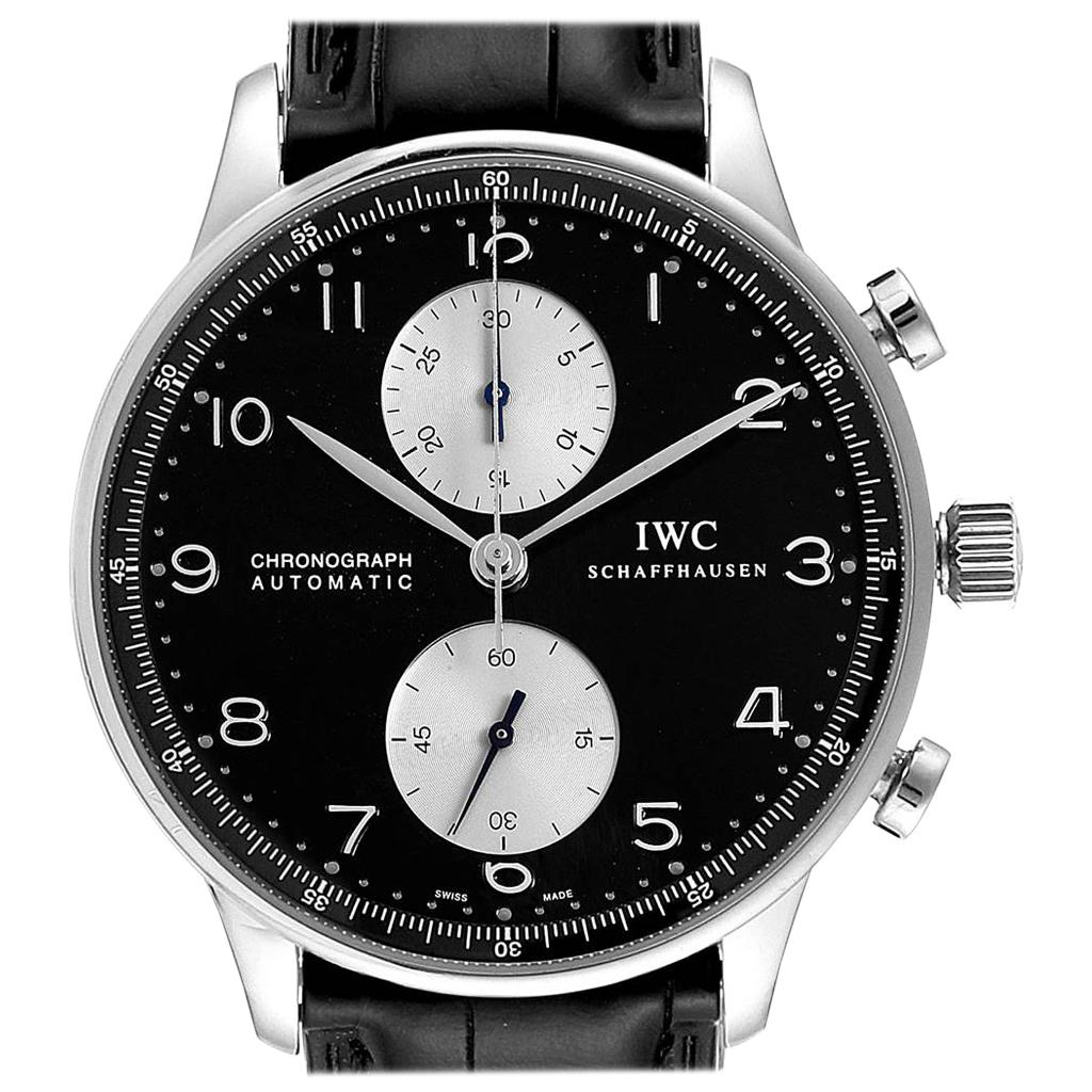 IWC Portuguese Chrono Automatic Steel Men's Watch IW371404