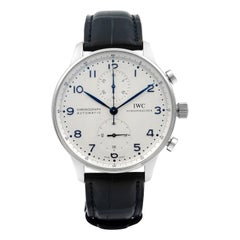 IWC Portuguese Chronograph Stainless Steel Automatic Men's Watch IW371446