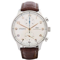 IWC Portuguese Chronograph Stainless Steel Men's IW371445