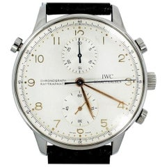IWC Portuguese IW371202, Silver Dial, Certified and Warranty