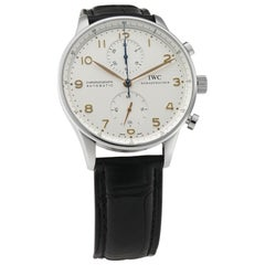 IWC Portuguese IW371401, Silver Dial, Certified and Warranty