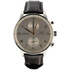 IWC Portuguese IW371445, Silver Dial, Certified and Warranty