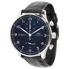 IWC Portuguese IW371447, Black Dial, Certified and Warranty