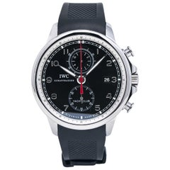 IWC Portuguese IW390204, Black Dial, Certified and Warranty