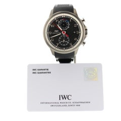 IWC Portuguese IW390212, Black Dial, Certified and Warranty