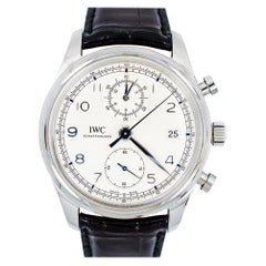 IWC Portuguese IW390403 Men's Automatic Stainless Steel Watch Silver Dial