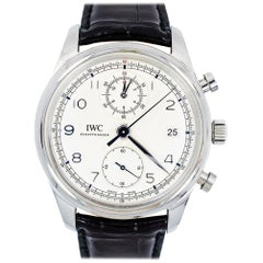 IWC Portuguese IW390403, Silver Dial, Certified and Warranty