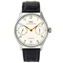 IWC Portuguese IW500114, White Dial, Certified and Warranty