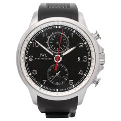 IWC Portuguese Yacht Club IW390210 Men's Stainless Steel Chronograph Watch
