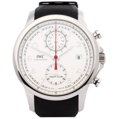 IWC Portuguese Yacht Club IW390502 Men's Stainless Steel Chronograph Watch