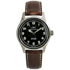 IWC Spitfire IW3253005, Black Dial, Certified and Warranty