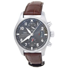 IWC Spitfire IW387802, Grey Dial, Certified and Warranty