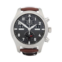IWC Spitfire Perpetual Calendar Stainless Steel IW379107