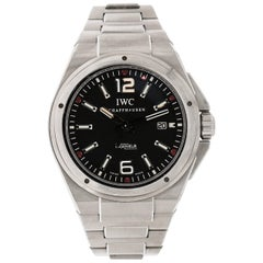 IWC Stainless Steel Ingenieur Mission Earth self-winding Wristwatch