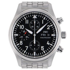 IWC Stainless Steel Pilot's Watch Chronograph IW371704