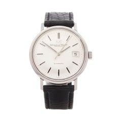 IWC Vintage Chronometer 5 Adjust Stainless Steel C8541B Wristwatch