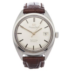 IWC Yacht Club C.8541B 5 Adjust Men's Stainless Steel Watch