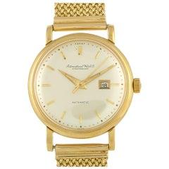 IWC Yellow Gold Watch