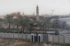 Desert Dusk - Middle East desert landscape painting